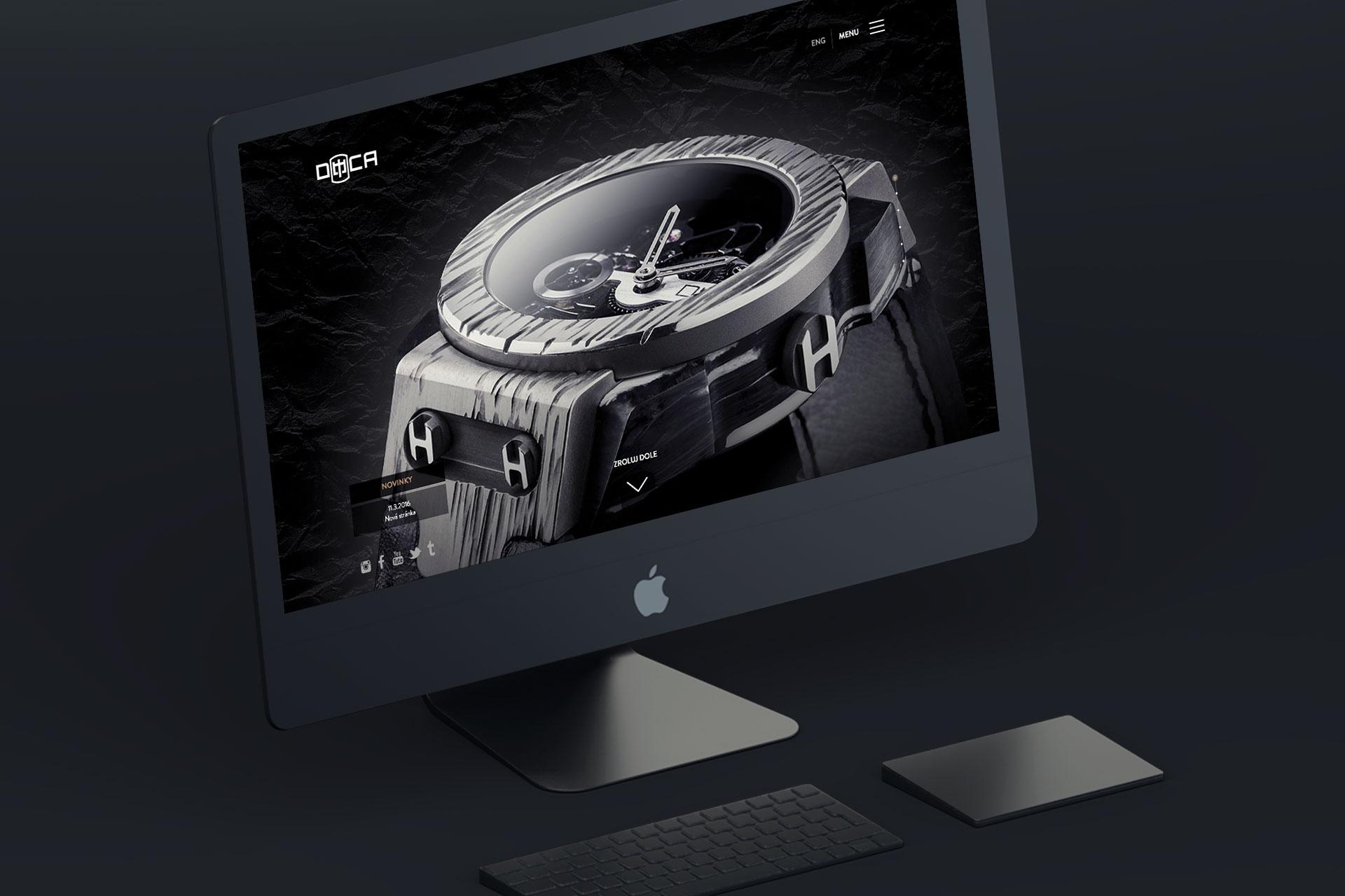 Tvorba web stránky DECAWATCH