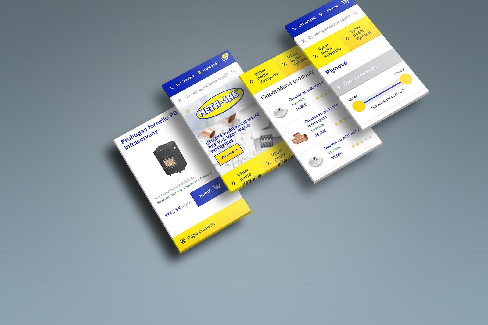 Webdizajn Metagas