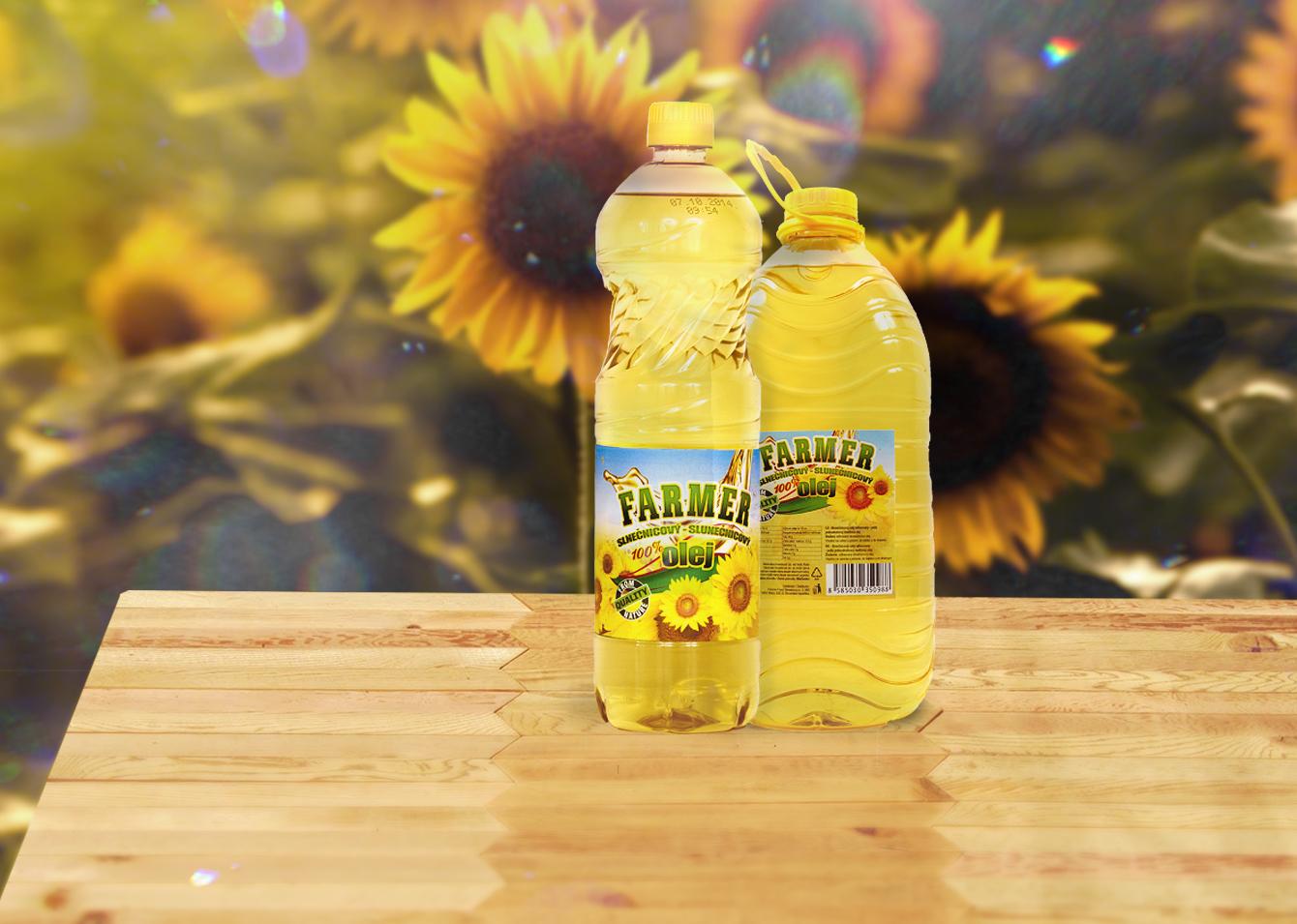 Farmer slnečnicový olej