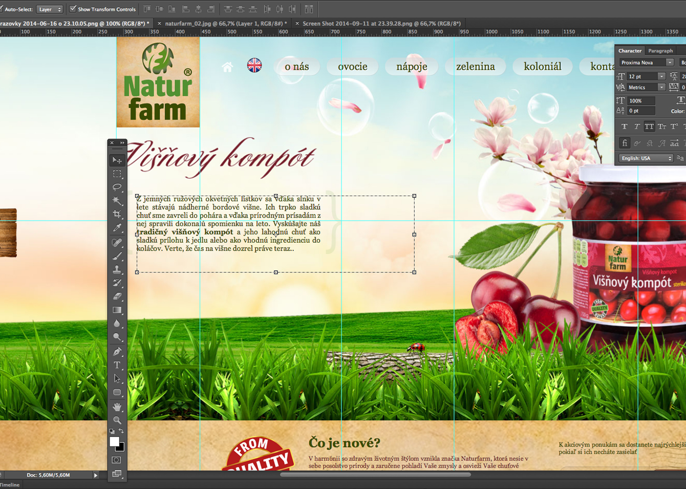 Natur farm web